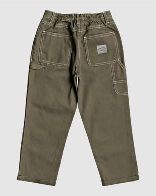 Quiksilver Boys 2 7 Gawer Workwear Pant - Pants (KALAMATA)