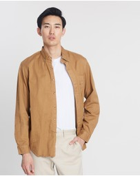 Heritage Garment-Dyed Twill Shirt