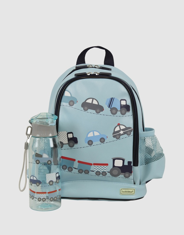 Bobbleart - Small Backpack and Drink Bottle Pack Cars