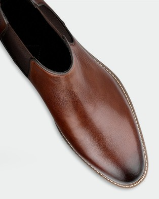 AQ by Aquila Lucca Chelsea Boots - Boots (Tan)