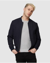 Jack London - Navy Bomber Jacket