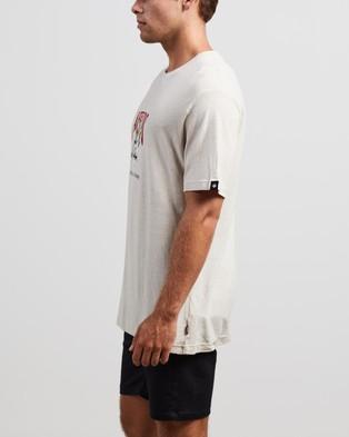 Afends Cupid Hemp Retro Fit Tee - T-Shirts & Singlets (Moonbeam)