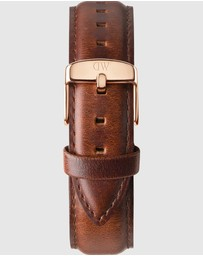 Daniel Wellington - Leather Strap St Mawes 18mm Watch Band - For Classic 36mm