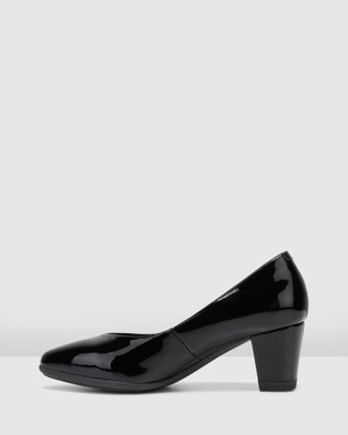 Hush Puppies The Point - All Pumps (Black Patent)