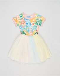 Rock Your Kid - Care Bears Unite SS Circus Dress - Kids
