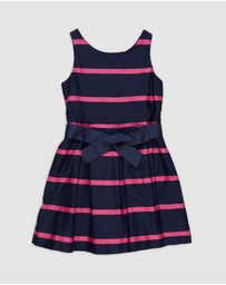 Polo Ralph Lauren - Stripe Woven Dress - Kids