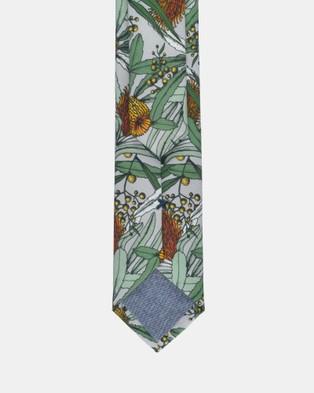 Peggy and Finn - Banksia Tie - Ties (Grey) Banksia Tie