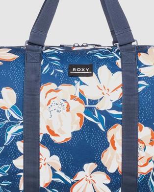 Roxy Pumpkin Spice 43L Medium Travel Duffle Bag - Duffle Bags (MOOD INDIGO HAPPY DA)