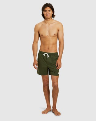 Arvust Newport Volley Boardshorts - Swimwear (GREEN)