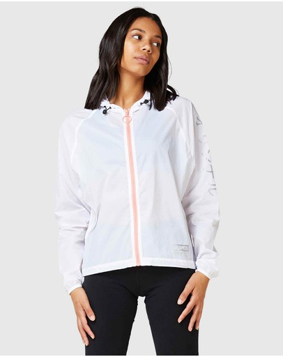 Superdry Sport Streetsport Batwing Jacket Optic
