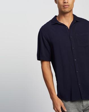 Cotton On Cuban Short Sleeve Shirt - Casual shirts (Navy)