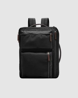 Fossil Buckner Backpack  - Backpacks (Black)