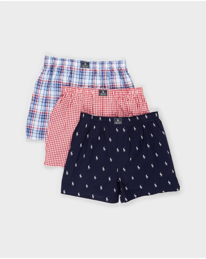 Polo Ralph Lauren - 3-Pack Woven Boxers