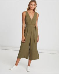 Karli Belt Detail Jumpsuit