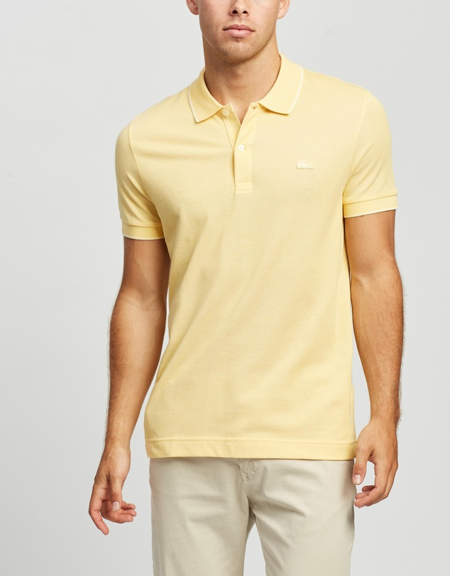 Lacoste - Two Colour Birds Eye Pique Polo