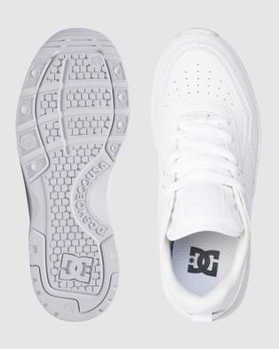 DC Shoes Womens E.Tribeka Platform Shoe - Sneakers (White)