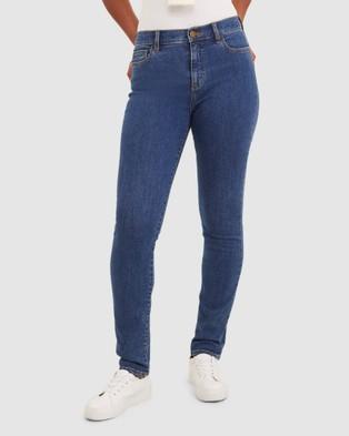 Sportscraft Jackie High Waist Skinny Jean - Jeans (blue)