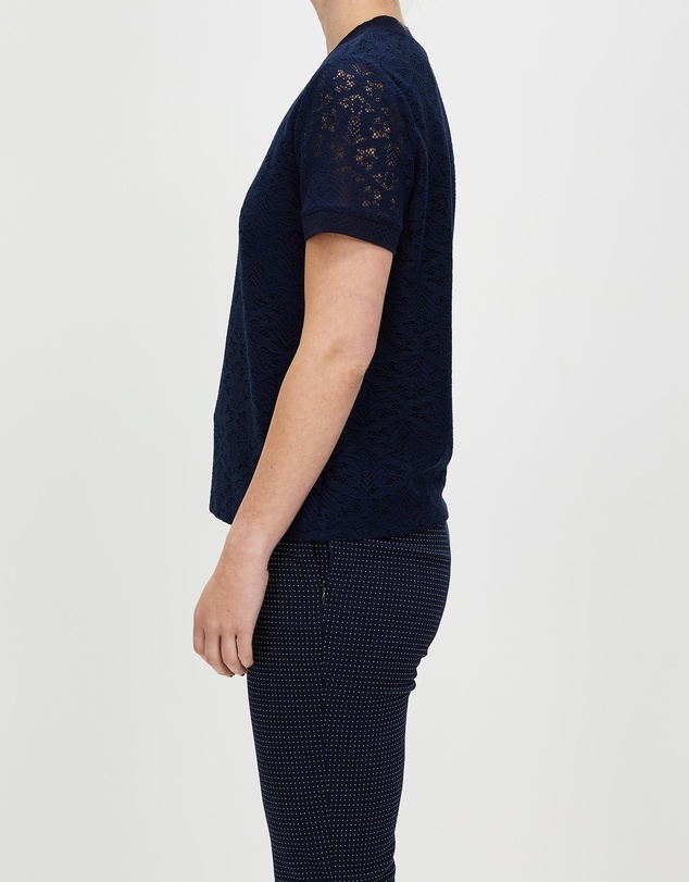 Women What In Carnation Lace Top
