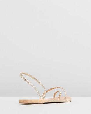 Ancient Greek Sandals Eleftheria - Sandals (Platinum)