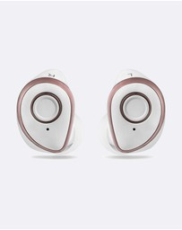 Friendie - AIR Zen Pearl White True Wireless In Ear Headphones