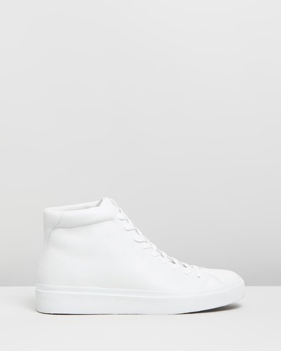 RB1 High Top Lace-Up Sneakers