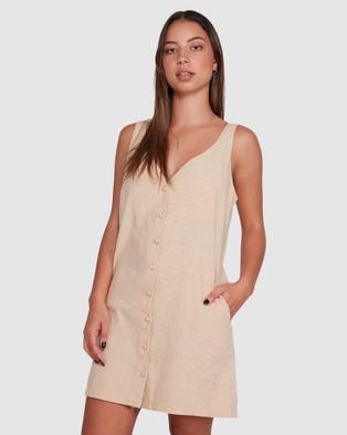 RVCA Bfs Shout Dress - Dresses (SUNWASH)