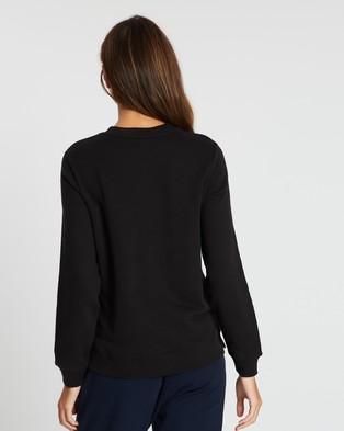 Tommy Hilfiger Heritage Crew Neck Sweatshirt - Sweats (Masters Black)