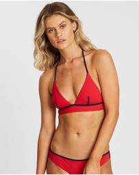 Calvin Klein - Longline Triangle Swim Crop