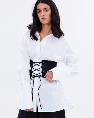 Eclect – Holmes Blouse Black & White