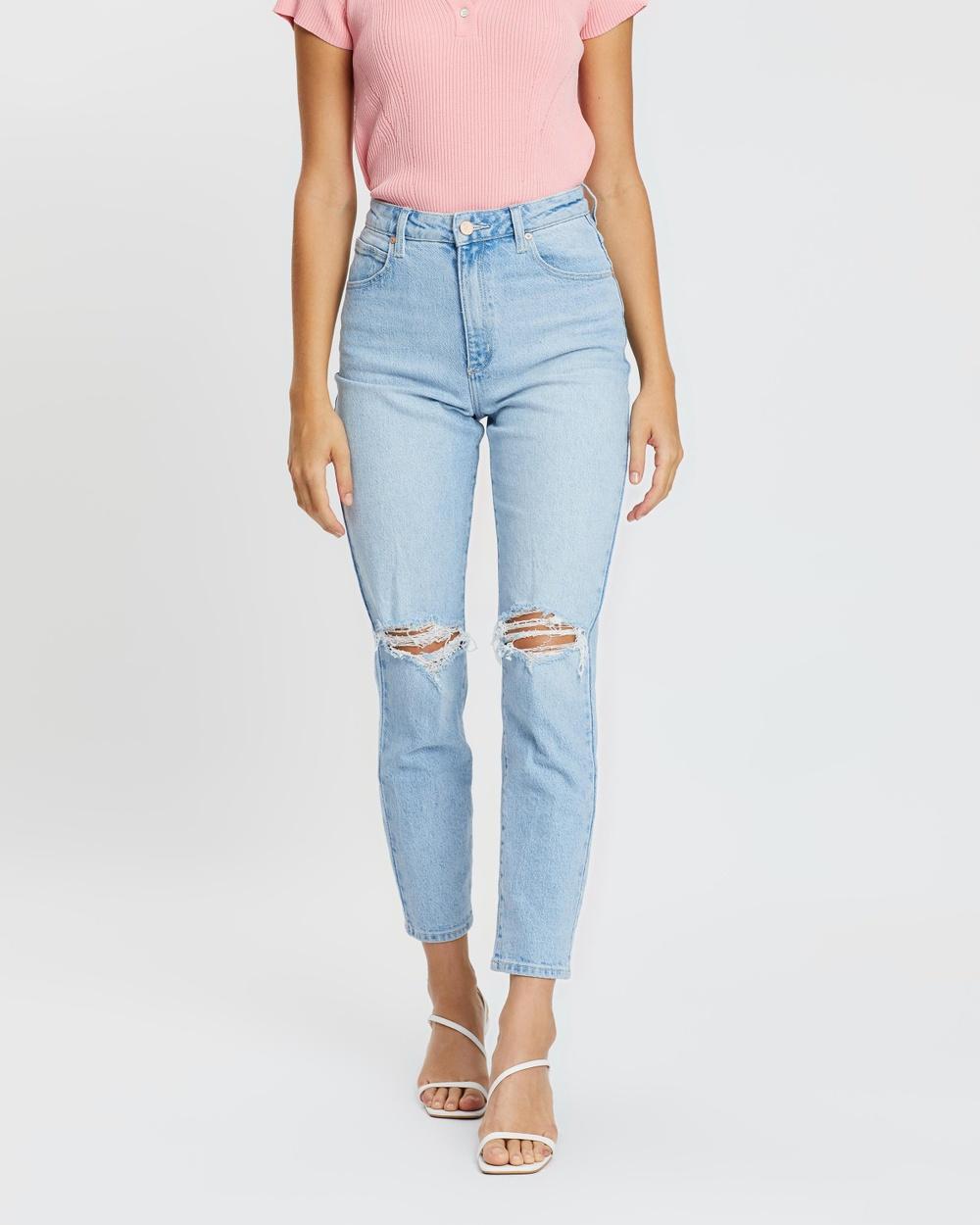 Abrand A '94 High Slim Jeans Gina Rip