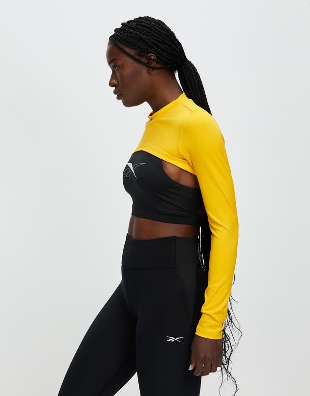 Women MYT Long Sleeve Training Crop