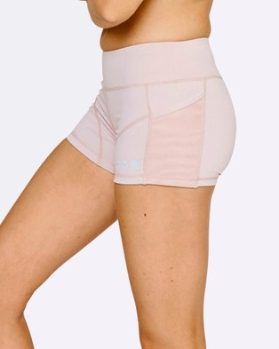 The Brave Women's High Tide Booty Shorts - Shorts (Violet Ice)