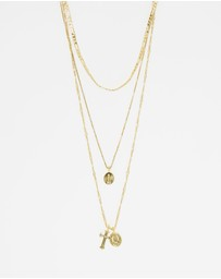 Luv Aj - Sabo Luxe x Luv Aj The Isidore Cross Charm Necklace