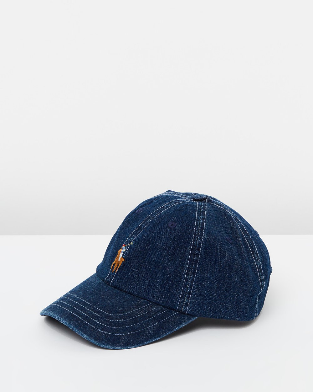 Denim Baseball Cap by Polo Ralph Lauren Online  472a5d834e2