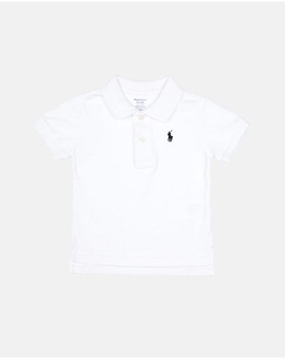 Polo Ralph Lauren - Cotton Mesh Polo Shirt - Baby