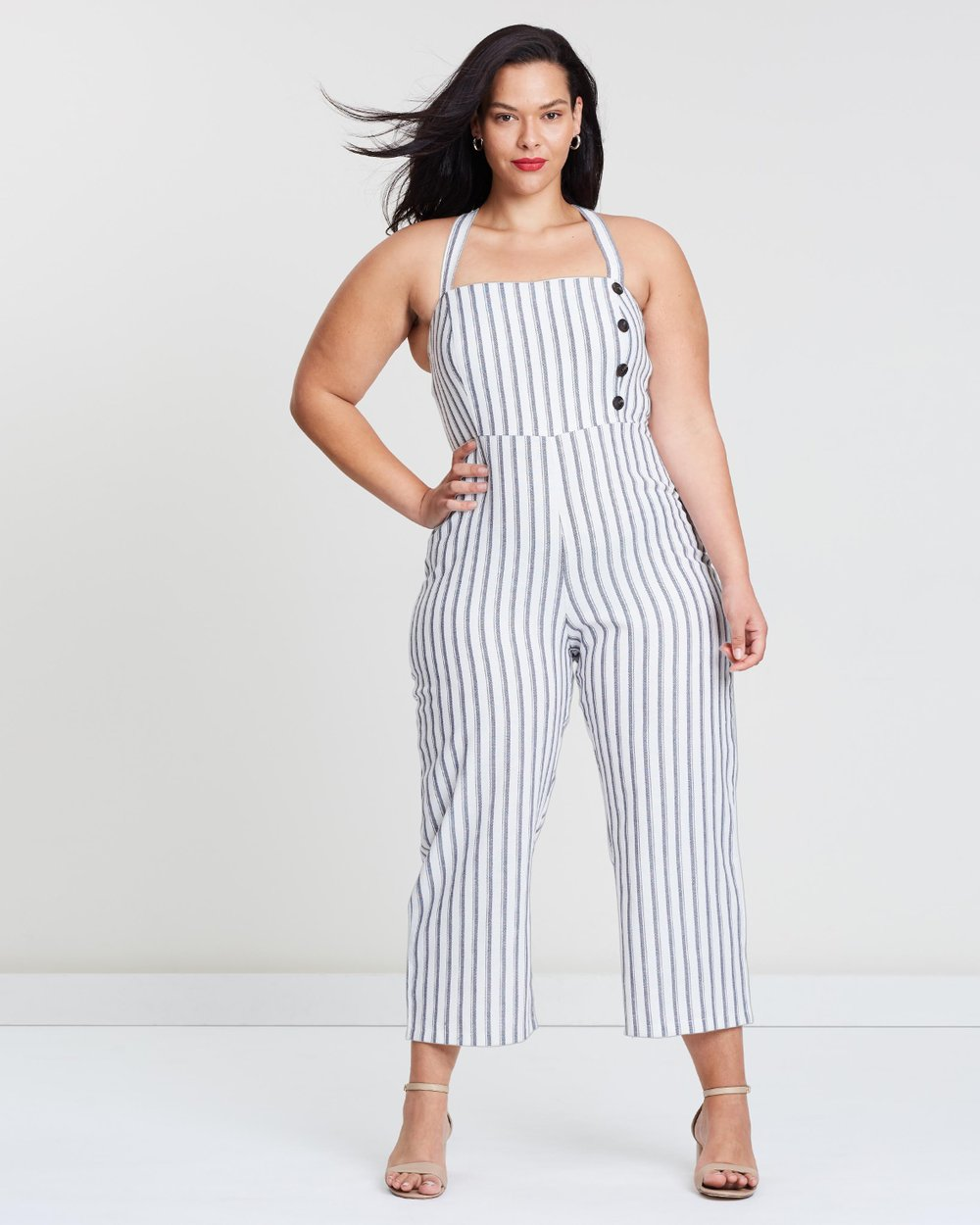 e6e997897433 ICONIC EXCLUSIVE - Belize Straight Leg Jumpsuit by Atmos Here Curvy Online