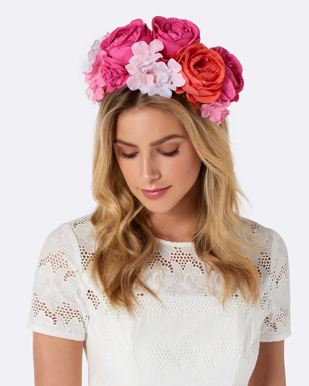 Marie Oversized Flower Crown By Forever New Online The Iconic