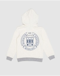 Scotch Shrunk - Zip-Through Hoodie with Artwork - Teens