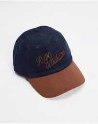 R.M.Williams - Moleskin Script Cap