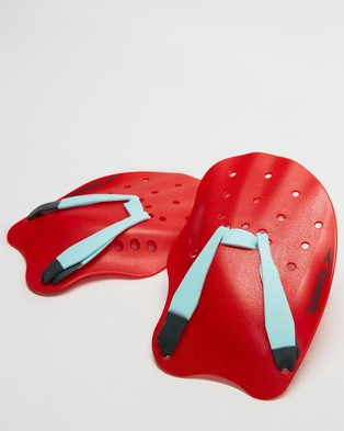 Speedo Tech Paddle - Swimming / Towels (Lava Red, Chill Blue & Grey)
