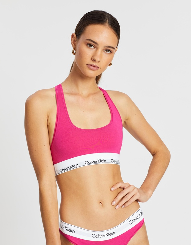 vandring Förståelse Ryta  Modern Cotton Recolours Unlined Bralette by Calvin Klein Online | THE  ICONIC | Australia
