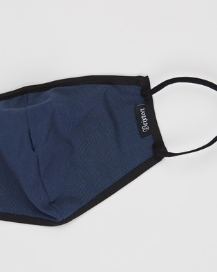 Brixton Anti Mac Face Masks - Face Masks (Navy)