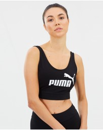 Puma - Essential Logo Crop Top