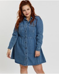 Mika Muse - Di Denim Shirt Dress