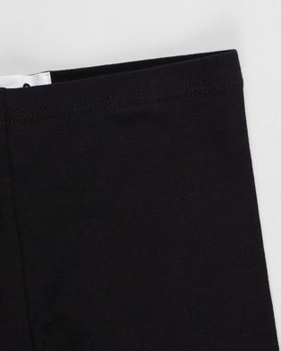 Cotton On Kids 3 Pack Huggie Tights   Kids Teens - Pants (Black)