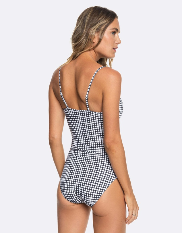 Roxy - Womens Beach Basics One Piece Swimsuit