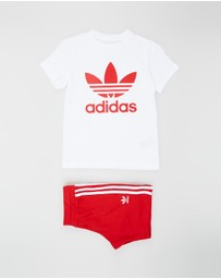 adidas Originals - Trefoil Shorts Tee Set - Kids