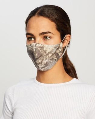 Grace Willow 2 Pack Non Medical Silk Face Masks - Face Masks (Animal Print)