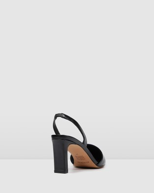 Jo Mercer Kyra Mid Heels - All Pumps (Black)