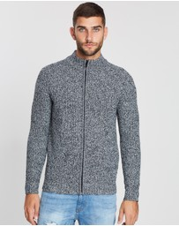 Burton Menswear - Zip-Through Cardigan